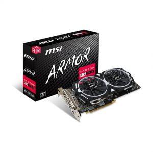 Card màn hình MSI RX 580 ARMOR 8G OC