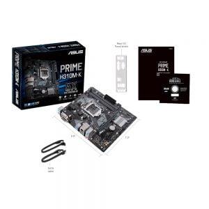 Bo mạch chủ vi tính Asus Prime H310M-K