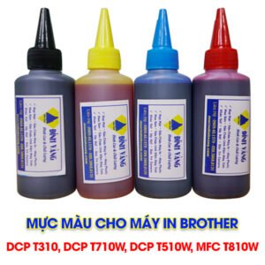 mực cho máy in brother DCP T310, DCP T710W, DCP T510W, MFC T810W