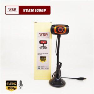 Webcam Vcam Full HD 1080P Chân Cao