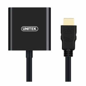 Cáp chuyển HDMI sang VGA + Audio Unitek Y6333
