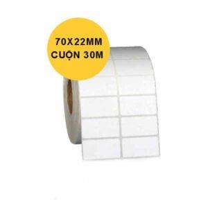 giấy in tem 2 tem 70x22x30m