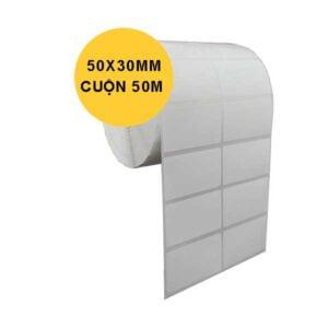 giấy in tem 2 tem 50x30x50m